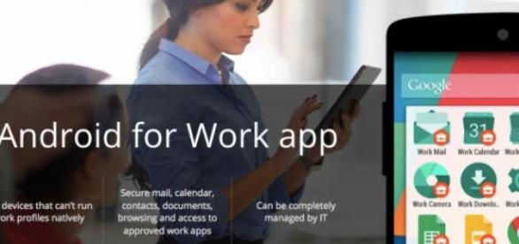 Google lanza Android for Work App
