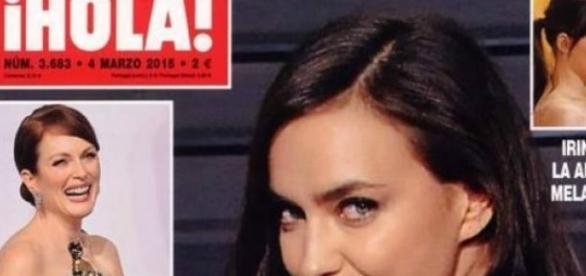 Irina na capa da revista ¡Hola!