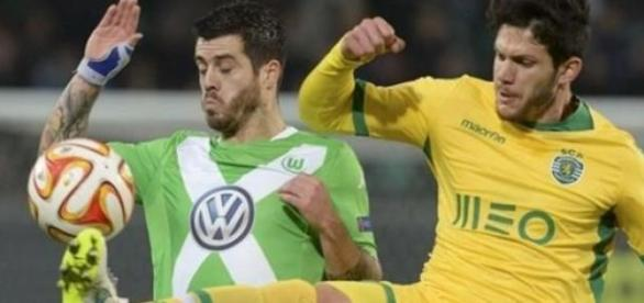 Sporting afastado da Liga Europa pelo Wolfsburgo