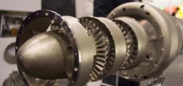 Un moteur à propulsion imprimé en 3D