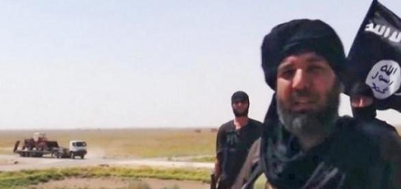 Frame de um video do Estado Islâmico