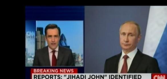 Putin prezentat drept terorist SI