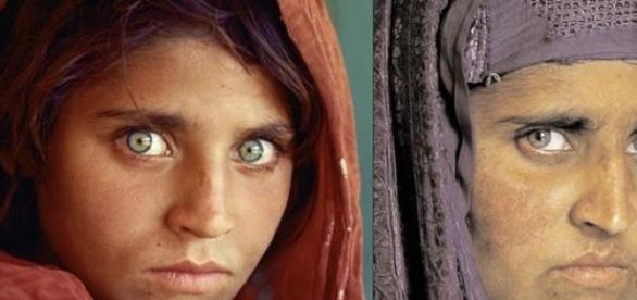 """Fetita afgana"" dupa 30 de ani"