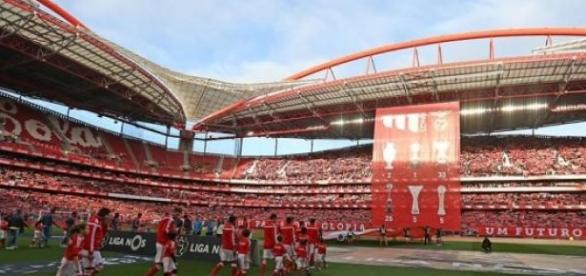 Benfica - Estoril (fonte: facebook do SL Benfica)