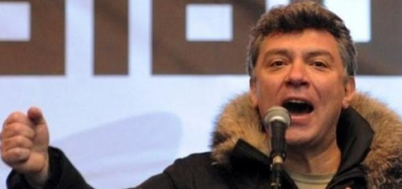 Boris Nemtov , liderul opozitiei din Rusia
