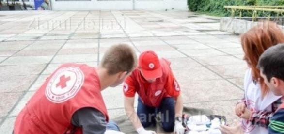 Voluntarii au sansa sa invete lucruri noi!