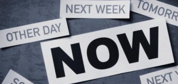 Nie kiedyś, nie jutro, nie za tydzień -teraz!
