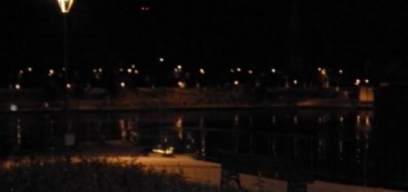 . O seara linistita la lac.