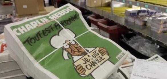"""Portada de """"Charlie Hebdo""""."""