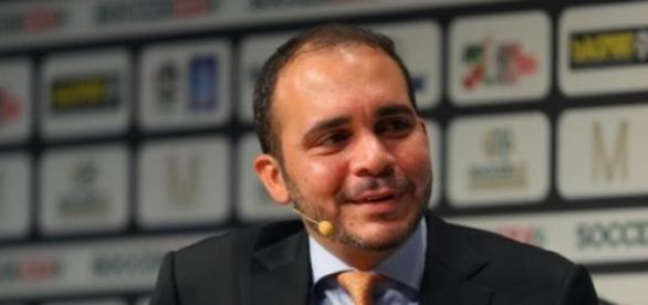 Prince Ali is hoping to become FIFA's President