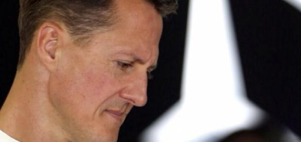 Schumacher está imóvel e impossibilitado de falar