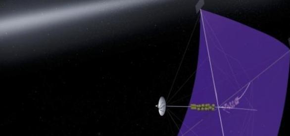 Vela solar para propulsar naves espaciales