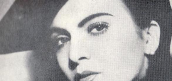 Fotografia Mariei Tănase în tinerețe