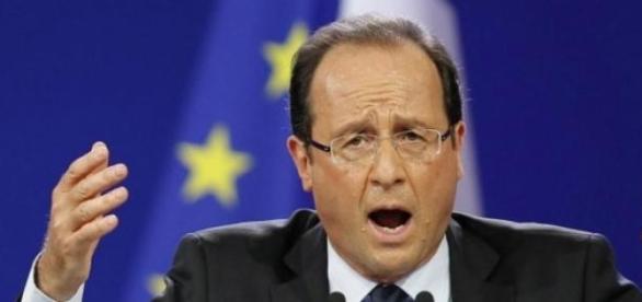 Francois Hollande, actualul presedinte al Frantei