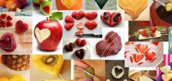 San Valentino, idee facili in cucina: tagliare la frutta a forma ...