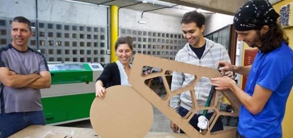 """Projeto """"Bike de Quinta"""" em seu primeiro protótipo"""