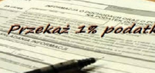przekaż 1% podatku na cele charytatywne