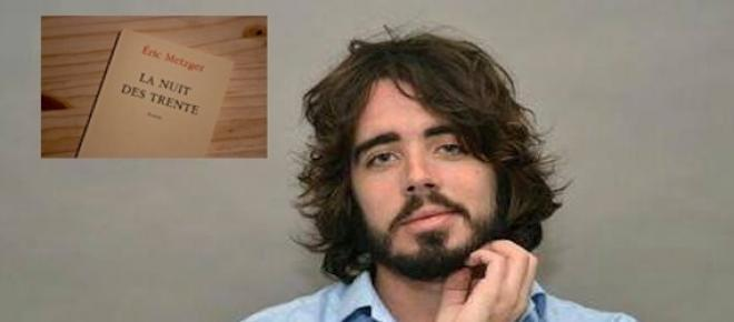 Eric Metzger, journaliste à <em>Canal +,</em> signe son premier roman avec <em>La nuit des trente</em>.