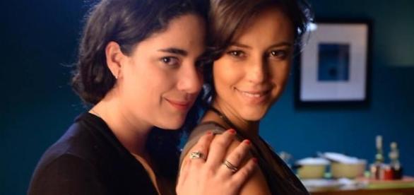 Daniela e Denise (Foto: Divulgação TV Globo)