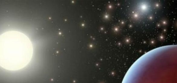Es una franja bien definida en el espacio