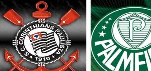 Jogo Palmeiras x Corinthians neste domingo