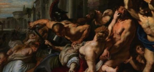O Massacre dos Inocentes, de Rubens.