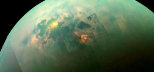 Imagen real del satélite Titán