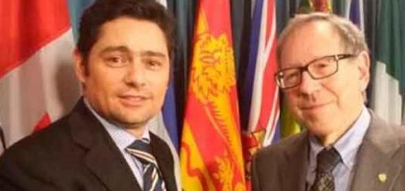 Juan Carlos Gutiérrez junto a Irwin Ctloer