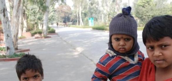 Trabalho infantil é comum na Índia