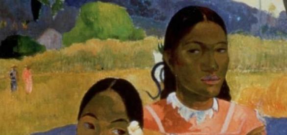 Un fragment din celebra pictura