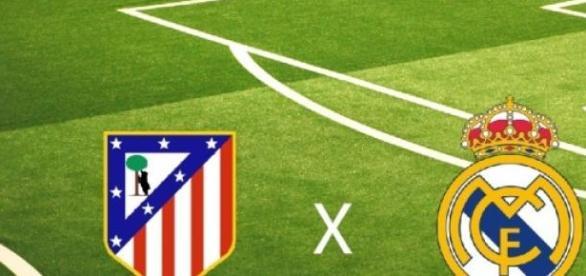 Derby Madrytu na Estadio Vicente Calderón