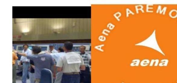 En contra de la privatización de AENA