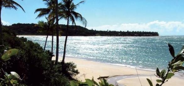 A beleza envolvente das praias de Trancoso