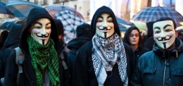 El último ataque de Anonymous.