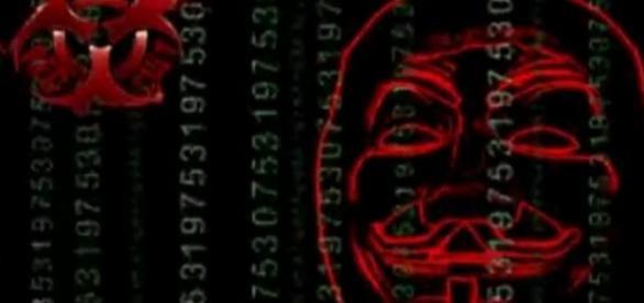 Frame do vídeo de anonymous