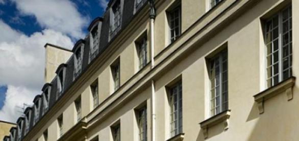 Un immeuble HLM en France