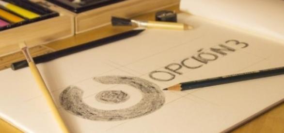 Logo de la cooperativa Opción 3