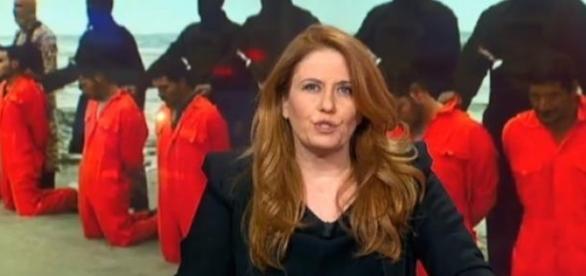 Monica Maggiori, directora do canal Rai News 24.