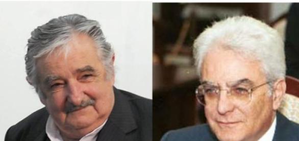Mujica y Mattarella coinciden en su austeridad