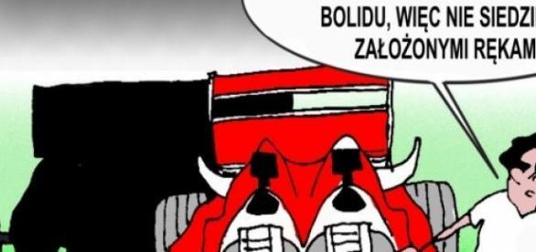 Bolid F1 spełniający wymagania Roberta Kubicy