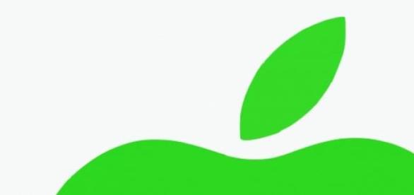 Farbiges Logo des Apple-Konzerns