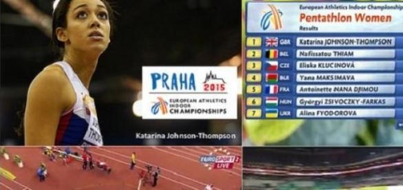 Johnson-Thompson just missed the world record