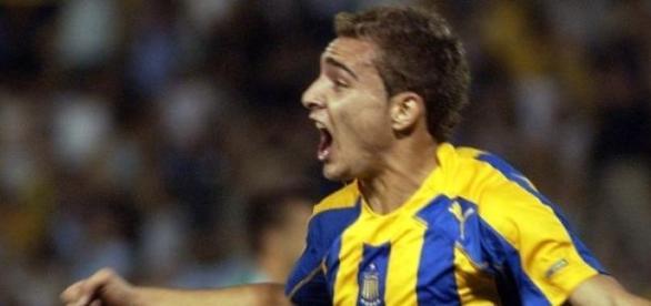La figura de la fecha Marco Ruben; marcó 3 goles