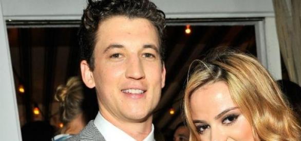 Miles Teller e sua namorada Keleigh Sperry