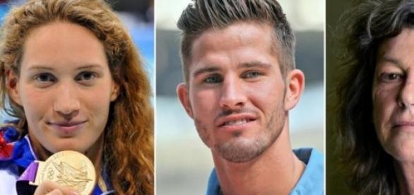Os três atletas franceses que perderam a vida