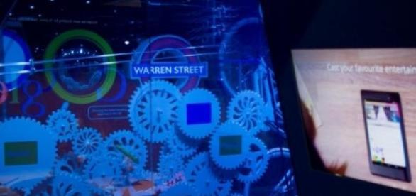 """Arte digital en el escaparate de """"The Google shop"""""""
