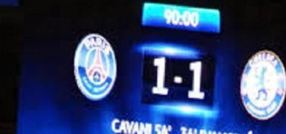Face au PSG. Chelsea part favori.