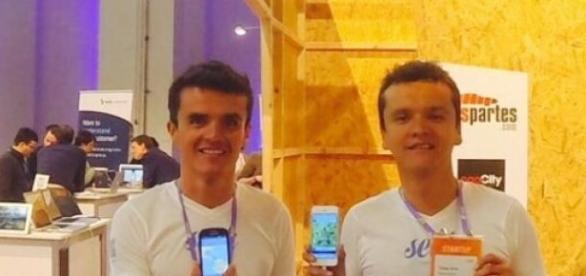 Los creadores de la aplicación Seak