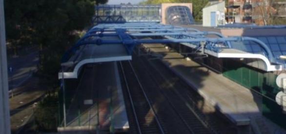 """Stazione """"Lido Nord"""" (Ostia)"""