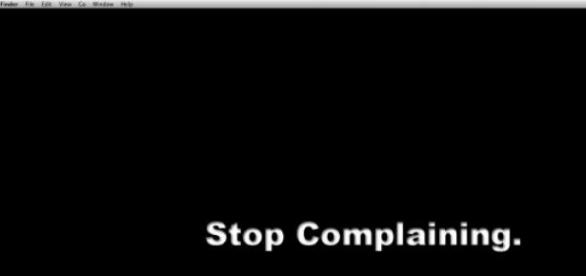 Stop complaining , solve your problems!